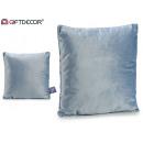wholesale Cushions & Blankets: cushion 45x45 velvet Gray