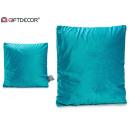 wholesale Cushions & Blankets: cushion 45x45 velvet green oil