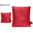 wholesale Cushions & Blankets: cushion 45x45 velvet Garnet