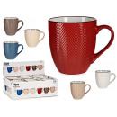 wholesale Household & Kitchen: American mug 460 ml spike relief assorted