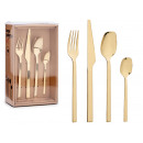 wholesale Other: set of 16 gold cutlery straight design