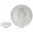 wholesale Crockery: plate white porcelain paste 23 cm