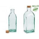 flasche flasche glas cdr 1l corch deckel