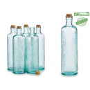 accordion glass bottle 750ml t cork