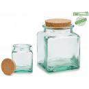 cdr glazen pot 950 ml kurken deksel