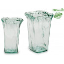 wholesale Consumer Electronics: glass vase artisana cdr 15x15 h23