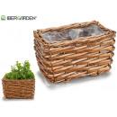 wholesale Garden Furniture: wicker basket without handles rectangular