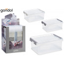 Organizer box 2,8l, colors 3 times assorted
