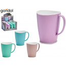 bicol plastic breakfast cup, colors 4 times surt