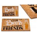 tapis de bière 40x60cm