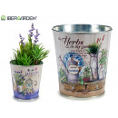 wholesale Fashion & Apparel: 2mix medium round metal planter