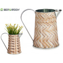 metal planter wicker jug assorted two