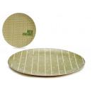 plate 20cm bamboo fiber, 2 times assorted organic