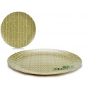 Großhandel Küchenutensilien: Teller 25 cm Bambusfaser, 2 fach sortiert ...