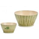 ciotola in fibra di bambù 14,5 cm, 2 volte assorti