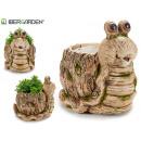 wholesale Plants & Pots: resin snail shaped plant pot