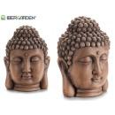 petite tête de Bouddha naturelle antique