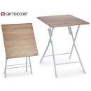 mayorista Deporte y ocio: mesa plegable color madera pequeño patas ...