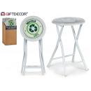 wholesale Small Furniture: stool pleg pvc white gloss recycle