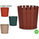 plastic pot xxl 33cm 4 colors