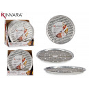 set of 4 aluminum grill / pizza trays redo