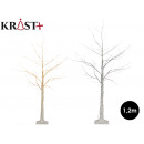 led white birch tree 120 cm