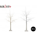 led white birch tree 145 cm