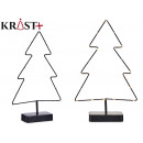 metal christmas tree led 38 cm