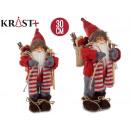 Santa Claus Jersey christmas standing 30cm