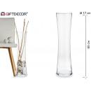 forme de vase en verre 65cm