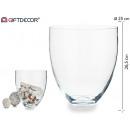 wholesale Flowerpots & Vases:glass vase wide cold cut