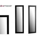 black molding mirror 41x131