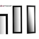 black molding mirror 53x155