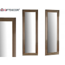 mirror molding silver stripes 53x155