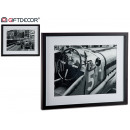 black molding frame, 2 times assorted classic car
