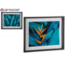 wholesale Pictures & Frames: mold black box, 2 times assorted tropical leaves 4