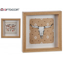box mold mad, 2 times assorted bull skull