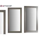 groothandel Spiegels: zilveren vormspiegel 64x84 cm