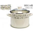 saucepan with glass lid 20cm vegetables