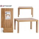 tavolino in legno 79x50x45cm
