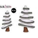 Figur Dekoration Weihnachten weißen Baum