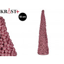Christmas tree pink balls 55cm
