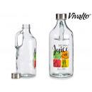 Bottiglia in vetro da 1l con manico succo di frutt