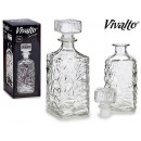 wholesale Food & Beverage: 1l transparent glass decanter