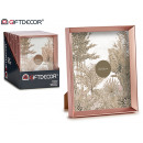wholesale Pictures & Frames: plastic photo frame copper molding 20x25cm