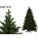 dark green christmas tree 210cm