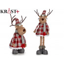wholesale Scarves & Shawls:deer with scarf 78cm