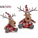 wholesale Scarves & Shawls:deer with scarf 28cm
