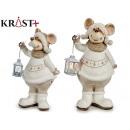 wholesale Wind Lights & Lanterns: christmas mouse with lantern