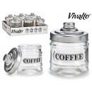 300ml glass jar with metal lid